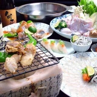 鍋の季節到来!新鮮魚介を使用した多彩なコースメニュー
