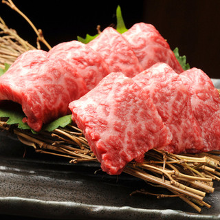 覚王の肉は厳選された『和牛』を使用しています