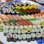すし物語季の風 - 料理写真:子供用お寿司 5000円分