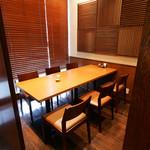 天ぷら ひさご - 6名様用の半個室