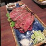 しんぽ - 和牛ロースA5 たたき