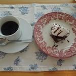 cafe ロス・オン・ワイ - デザートと珈琲