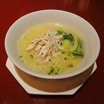 中国料理 XVIN - 蒸し鶏のスープそば