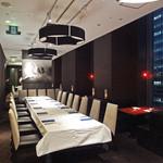 中国料理 XVIN - お部屋はモダンでシックな設え