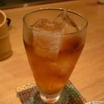 串やき 一富士 - ☆ウーロン茶で乾杯です☆