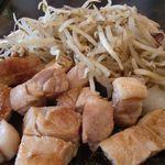 Fujiteppanyaki - 豚ロースステーキランチ 1000円。