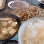 Fujiteppanyaki - カキバターランチ 950円