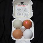 とよんちのたまご - お試し4個セットの卵さん