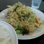 22085437 - 野菜炒めアップ