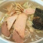 ラーメンハウス万福亭 - 料理写真:塩とろラーメン(650円)