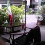 ストーリア - 気候の良い日は快適なテラス席