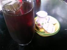ストーリア - 食後のアイスコーヒー