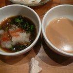 はま - ポン酢&胡麻ダレ