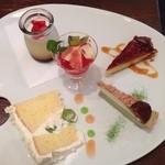 カフェ ド リオン - デザートパレット