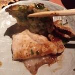 ひょうたん島 - とんぺい焼き…分厚い豚肉