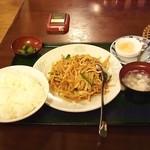 22091488 - Bランチ 四川風竹筍肉系定食