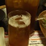 甘太郎 - チェイサーの烏龍茶