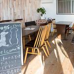 漁師カフェ 堂ヶ島食堂 - 1階のペットスペース(冷暖房完備)