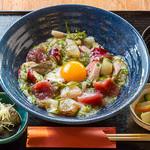 漁師カフェ 堂ヶ島食堂 - 料理写真:俺の!ぶっかけ丼