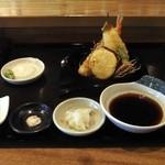 百承蕎麦 大和 - (2013年10月撮影)天せいろ・・配膳がキレイです。