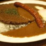 カレー屋パク森 - パク森はドライとスープ、2種のルー