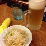 鴻運 - 料理写真:生中¥450
