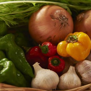 市場のほんの1%しかない自然栽培の野菜を使用