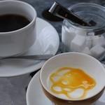 イタリアンバール コイズミ - コーヒーとパンナコッタ