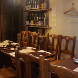 テーブル席2~12名様