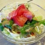 カプリカフェ - コースのサラダ