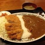 とんとん - 料理写真:ロースかつカレー1,180円☆(第二回投稿分②)