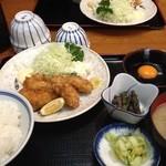 22101673 - カキフライ定食(2013/10)