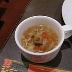 中国料理 盤古殿 - スープ