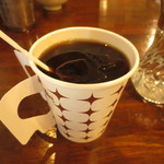 ガラムマサラ - 食後のアイスコーヒー