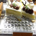 ティーズスタイル - 和栗のショートケーキ:380円('13.10月にて)