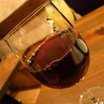 ワイン食堂 ツルカメ - メルロ(北イタリア)500円