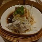 施家菜 - 蒸し魚 この日は岩屋の天然鯛・・