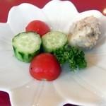 ソーニャ - ランチのサラダ