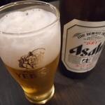 手作り料理 大井町の名物家 - 瓶ビール