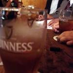 Cafe ざぶざぶ - テーブル席でジンジャーエール