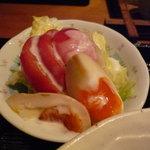 雪月花 神田川 - ☆サラダもタマゴがキラリですね(*^。^*)☆