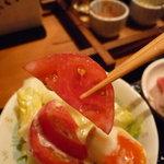雪月花 神田川 - ☆神田川さんは素材が良いのでトマトも美味しい☆