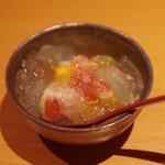 和味 大輔 - 秋のフルーツとレモンジュレ