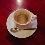 カフェ・ロリータ - アマレットコーヒー。