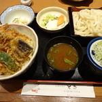 22113636 - 天丼セット ¥1270
