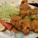 生駒軒 - 若鶏カラ揚(カレー塩付)