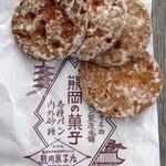 熊岡菓子店 - 「小丸パン」1枚15円