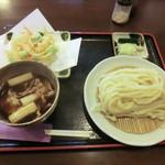 槙家 - 肉汁うどん(850円)_2013-10-22