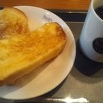 タリーズコーヒー - バニラフレンチトースト290円
