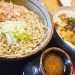 22117685 - 天丼とおろしそばセット…大盛りは+¥350